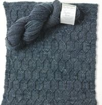 Powder River by Red Barn Yarn - a yarn review and FREE knit block pattern from your friends at Love of Knitting magazine