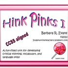 Hink Pinks have been a staple in gifted education with good reason.  These riddles with rhyming answers help students learn to interpret data, make...