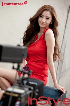 Han ChaeYoung #한채영 (Kim JiYoung 김지영) for InStyle Korea c.2013 #인스타일 #화보
