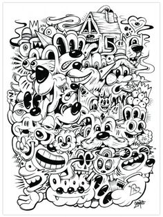 trippy/psychedelic coloring pages