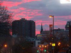 Maryland Morning Baltimore City, Morning Sunrise, Little Italy, Seattle Skyline, Maryland, Clouds, Travel, Viajes, Destinations