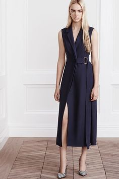 Check out the whole Jason Wu Resort 2016 Collection by clicking through the gallery. Photos: Simon Burstall / Courtesy of Jason Wu Jason Wu, Work Fashion, Fashion Show, Fashion Design, Runway Fashion, Fashion Styles, Fashion Trends, Wrap Around Dress, Mode Style