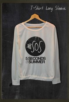 5SOS 5 Second of Summer Shirt Long Sleeve Jumper Women Freesize $17 USD