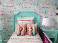 @givewink always knocks kids room decor out of the park! How fab is this whimsical mermaid-inspired toddler room?!