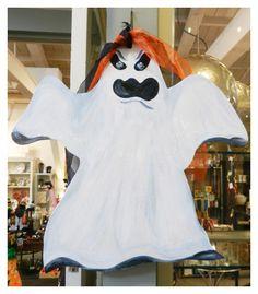 Scary ghost door hanger
