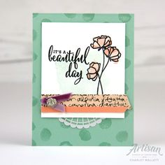 Hope you all have a beautiful and relaxing day. This card features products from the Stampin' Up! Share What You Love Promotion, Gotta Have it all Bundle. Stamping Up, Rubber Stamping, Stampin Up Catalog, Beautiful Handmade Cards, Scrapbook, Homemade Cards, Happy Mothers Day, Stampin Up Cards, Cardmaking