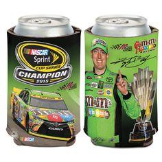 Kyle Busch 12oz. 2015 Sprint Cup Champion Can Cooler - $4.99