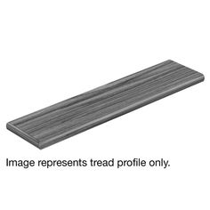 Cap A Tread Watkins Hickory 94 in. Length x 12-1/8 in. Deep x 1-11/16 in. Height Laminate Left Return to Cover Stairs 1 in. Thick, Medium