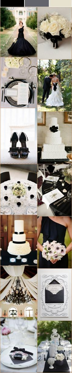 black and white wedding ideas - that chandelier & draping... Oh my gosh, I die. Beautiful!