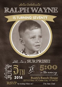 Marci Coombs: Dad's 70th SURPRISE Birthday Party!