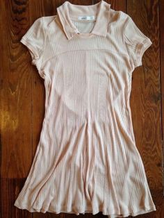 Anthropologie AIKO Dimanche Chemise Lounge Sleep Casual Tunic Dress Pink Size M #Anthropologie #Tunic #Casual $8.00 + $4.29 s/h