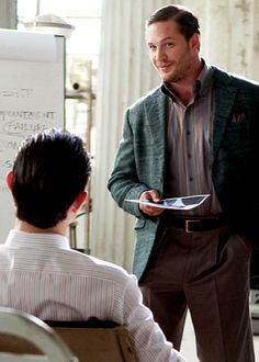 """Your condescension, as always, is much appreciated, Arthur, thank you."" Tom Hardy, Eames; Inception"