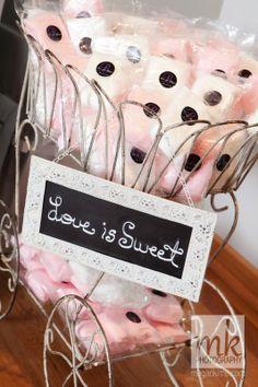 Custom Cotton Candy #Favors #lafete