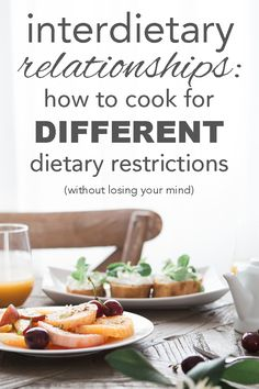 What if you're a vegetarian and you significant other eats meat? What if you or your kids have an allergy? You don't have to make separate meals. Learn how to streamline meal planning and how to cook for different dietary restrictions or what I like to call interdietary relationships from www.goingzerowaste.com