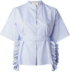 Ports 1961 tassel trim shortsleeved shirt