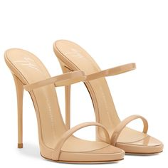 Blush Women Giuseppe Zanotti Darsey Patent Sandal With Two Straps Cozy And Durable,Quality Giuseppe Zanotti News Giuseppe Zanotti Men Loafers Women Fashion-Forward. High Heels Black, High Heels Boots, Beige Heels, High Shoes, Shoe Boots, Shoes Heels, Talons Sexy, Giuseppe Zanotti Heels, Fashion Heels