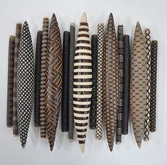Domestic Markings 17: Kelly Jean Ohl: Ceramic Wall Art - Artful Home