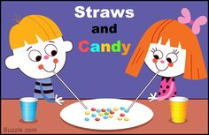 Straws and Candy