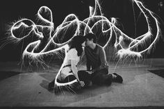 Sparklers | Engagement Photography | Sargeant Creative