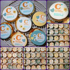 Chestnut Tree House Hospice Charity Cupcakes donated to Body Shop in Fareham