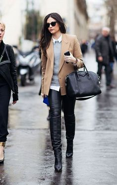 40 Trendy Work Attire & Office Outfits For Business Women Classy Workwear for Pr. - 40 Trendy Work Attire & Office Outfits For Business Women Classy Workwear for Professional Look Office Looks, Winter Outfits For Work, Fall Outfits, Rainy Day Outfit For Work, Edgy Work Outfits, Winter Office Outfit, Winter Work Clothes, Fashionable Outfits, Stylish Clothes