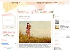 Summer of '69 [v.2] Blogger Template : Envye, Premium Blogger Templates and Wordpress Themes