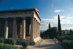 VISIT GREECE| Ancient Agora, Temple of Hephestus, #Athens Attica