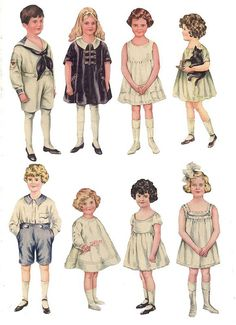POLLY PRATT PAPER DOLLS  1.- Goodhouskeeping 1919-1921 by BARBARAJEAN, via Flickr