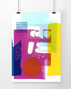 Abstract Screen Prints – Anna Schmidt