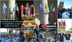 La Madonna dei Martiri, da Molfetta in Argentina, la mejor proseción de la Boca. www.ilovemolfetta.it