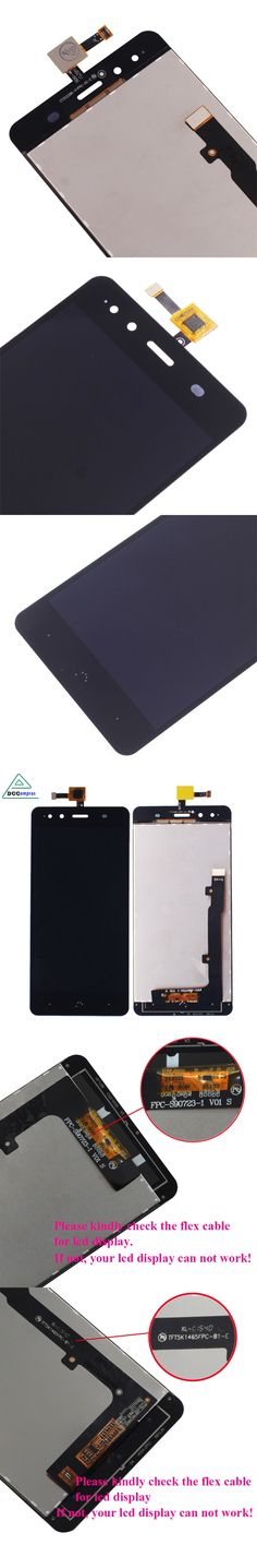 Dccompras For BQ Aquaris X5 S90723 5K1465 LCD Display Touch Screen Digitizer Assembly Tested High Quality Mobile Phone LCDs