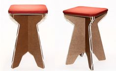 A cardboard stool that will exceed your durability expectations!