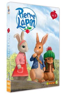 PIERRE LAPIN volume 6  - DVD NEUF