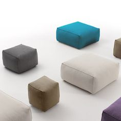 SOFT Ottomans by Belta for Jane Hamley Wells - Stools - Jane Hamley Wells