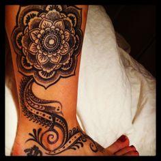 India / Mendi Inspired Tattoo