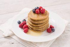 PANCAKES light SENZA UOVA  SENZA LATTE SENZA BURRO - SENZA GLUTINE - #Vegan #glutenfree easy #pancakes - only natural glutenfree flours