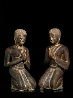 Bonhams Fine Art Auctioneers & Valuers: auctioneers of art, pictures, collectables and motor cars Sculpture Images, Sculptures, Art Thai, Buddha, Southeast Asian Arts, Buddhist Practices, Thailand Photos, National Museum, 17th Century