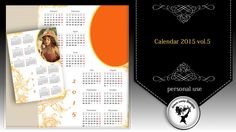 Calendar 2015 vol.5 by Black Lady Designs