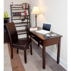 $189 Simplihome - Avalon Writing Desk - AXCAVA008 - Home Depot Canada  http://www.homedepot.ca/product/avalon-writing-desk/953036