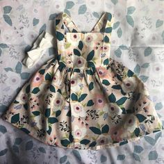 Infant/Toddler handmade to order, pinafore dress. Perfect for any occasion. Toddler Dress, Toddler Outfits, Baby Dress, Kids Outfits, Infant Toddler, Toddler Girls, Baby Girl Fashion, Toddler Fashion, Kids Fashion
