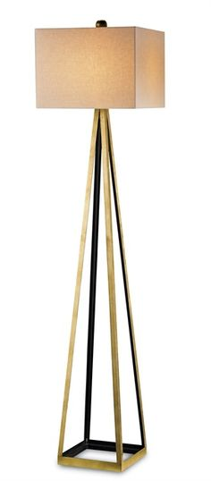 Bel Mondo Floor Lamp   Currey & Company