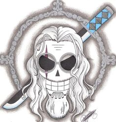 Silvers Rayleigh Pirate-Emblem. by LoLoOw