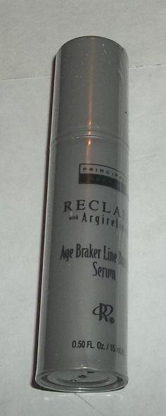 PRINCIPAL SECRET RECLAIM w/ Argireline Age Braker Line Breaker Serum .5 oz NEW