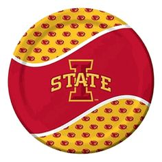 Iowa State Cyclones 9 Inch Paper Plates, Set of 8 $4.00