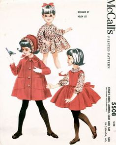 McCalls 5508a vintage Winter ensemble by Helen Lee