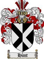 Hunt Coat of Arms / Family Crest Downloadable JPG   coatofarms - Graphics on ArtFire $7.75