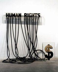 Andrei Molodkin: Humain Rights   Art Installations, Sculpture   Scoop.it