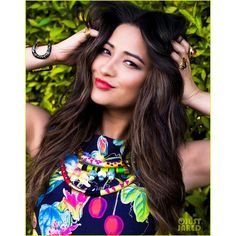 Shay Mitchell Photo Shoot JustJared.com Exclusive! ❤ liked on Polyvore featuring shay mitchell, pictures, pics, girls and models