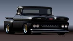 Love the Chevy trucks