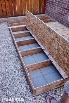 Building A Storage Shed, Diy Storage Shed, Shed Building Plans, Diy Shed Plans, Building Ideas, Bed Plans, Building Design, Lean To Shed, Build Your Own Shed